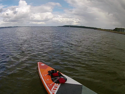 Fahrensodde sitio de stand up paddle / paddle surf en Alemania