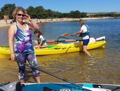 Port d albret spot de stand up paddle en France