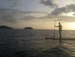Anse à l'Ane paddle board spot in Martinique