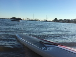 Thimble Islands paddle board spot in United States