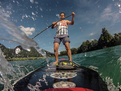 Blacktree Base paddle board spot in Austria