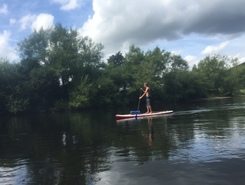 River Wye  paddle board spot in United Kingdom