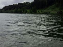 grosser alpsee paddle board spot in Germany