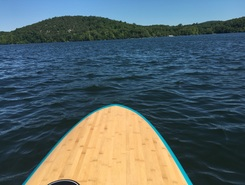 Munksville  paddle board spot in United States
