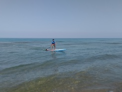 Nioxori beach paddle board spot in Greece