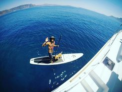 armeni spot de stand up paddle en Grèce