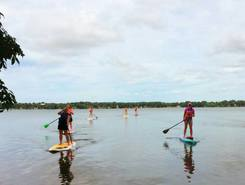 Pike Lake spot de stand up paddle en États-Unis