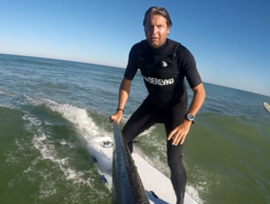 Horizon cap ferret spot de stand up paddle en France