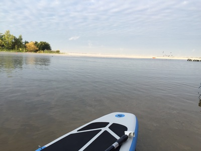 Turawa paddle board spot in Poland
