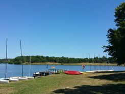 lacs de haute charente  paddle board spot in France