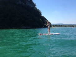 Tour Rocca Manerba paddle board spot in Italy