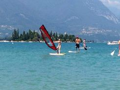 Pisenze sitio de stand up paddle / paddle surf en Italia