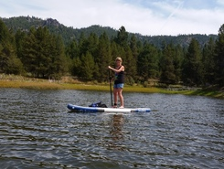 horsethief reservoir paddle board spot in United States