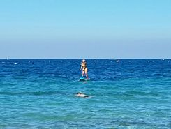 cervar porat to hawaii beach sitio de stand up paddle / paddle surf en Croacia