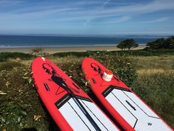 Sables blancs douarnenez sitio de stand up paddle / paddle surf en Francia