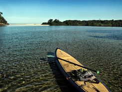 Rio Puruba paddle board spot in Brazil