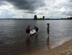 Meerwijckstrand paddle board spot in Netherlands