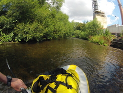 Oker river, Schladen paddle board spot in Germany