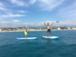 Cagnes sur Mer paddle board spot in France