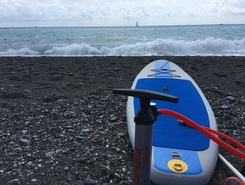 Cavi di Lavagna paddle board spot in Italy