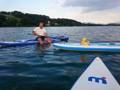 Sempach Seepark  paddle board spot in Switzerland