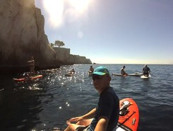Calanque D'En Vau paddle board spot in France