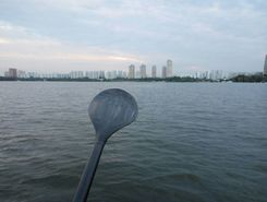 Moscow river sitio de stand up paddle / paddle surf en Rusia