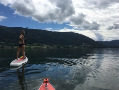 Steindorf Ossiachersee paddle board spot in Austria