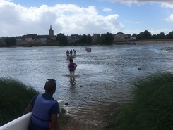 Loire spot de stand up paddle en France