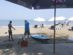 cartagena  sitio de stand up paddle / paddle surf en Colombia
