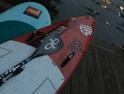 Alster sitio de stand up paddle / paddle surf en Alemania