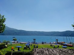 Lago Albano  sitio de stand up paddle / paddle surf en Italia
