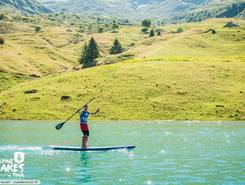 Lac de roselend sitio de stand up paddle / paddle surf en Francia