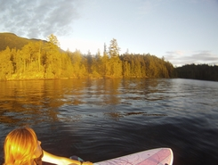 Ruby Lake spot de stand up paddle en Canada