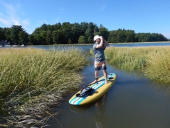 Squamscott River - Great Bay sitio de stand up paddle / paddle surf en Estados Unidos