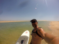 Barrinha Ilha de Faro spot de stand up paddle en Portugal