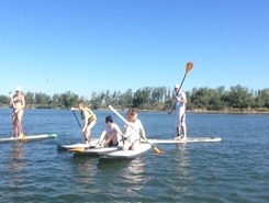 ETANG DU PONANT  spot de stand up paddle en France