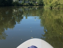 Rudergesellschaft Wetzlar paddle board spot in Germany