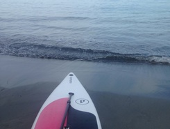 Session 2 paddle board spot in Colombia