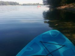 Parc de Miribel Jonage spot de stand up paddle en France