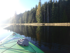 snakehead lake spot de stand up paddle en Canada
