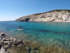 Cala Lunga sitio de stand up paddle / paddle surf en Italia