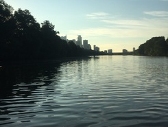 Lady Bird Lake paddle board spot in United States
