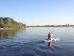 Vishgorod UA smile park  spot de stand up paddle en Ukraine