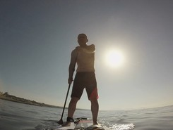 Sausset les pins paddle board spot in France