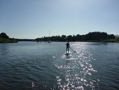 Schlei sitio de stand up paddle / paddle surf en Alemania