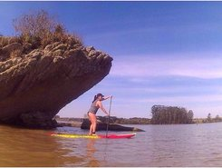 Alagados sitio de stand up paddle / paddle surf en Brasil