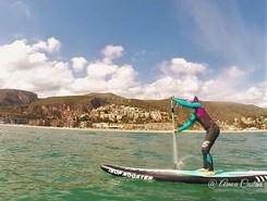 Sitges sitio de stand up paddle / paddle surf en España