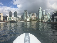 SUP  paddle board spot in Canada