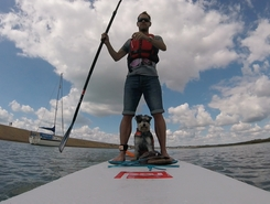 Keyhaven paddle board spot in United Kingdom